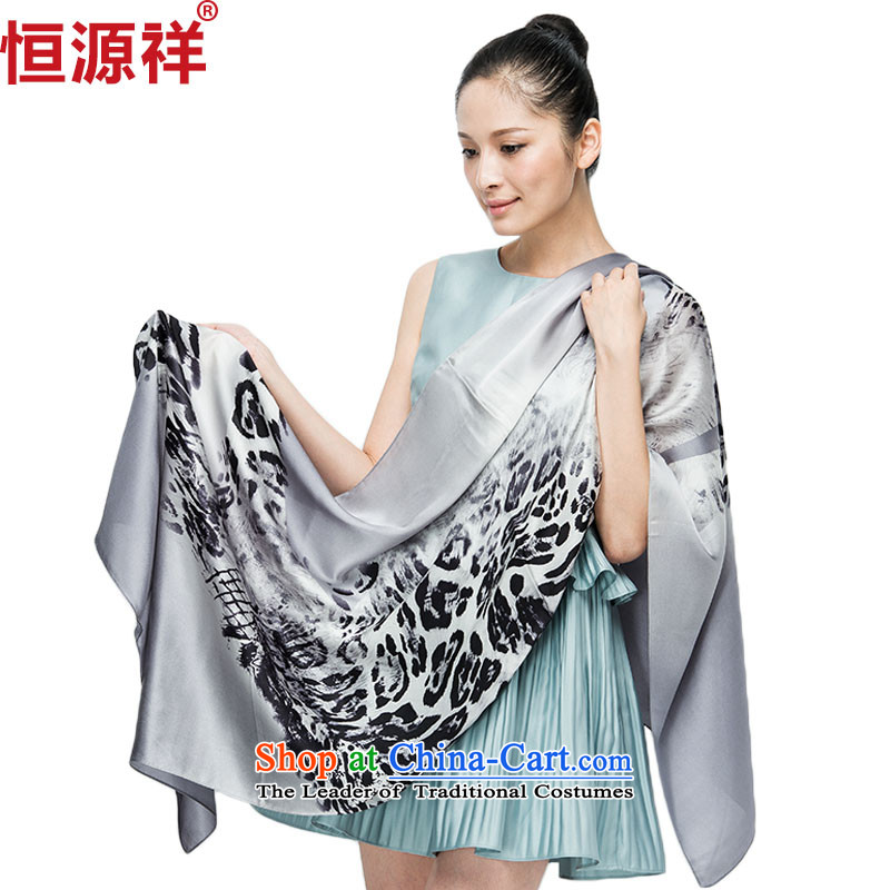 Hengyuan Cheung 2015 Ms. new silk scarfs autumn and winter herbs extract silk scarf snow spinning towel long large聽13_05 shawl