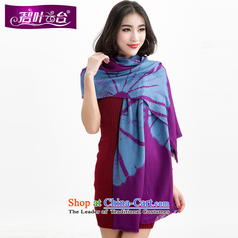 Mr Pik PTZ sunflower shawl scarf girl of autumn and winter Western woolen scarf shawl Korea two with Thick edging a)006