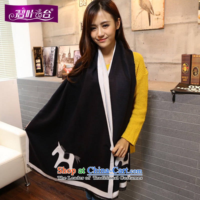Mr Pik PTZ autumn and winter warm and stylish wooler scarf women cape wild long thick knitted a rectangular mantle scarf001