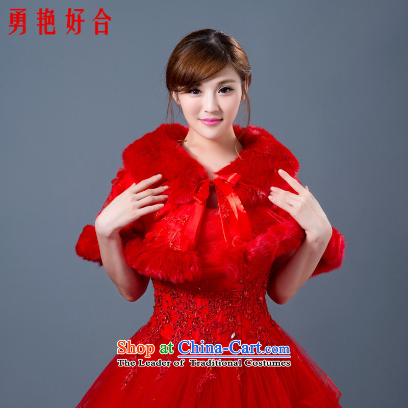 Yong-yeon and new large shawl embossing gross shawl red bride shawl warm mandatory shawl wedding dresses wild Red Shawl winter shawl gross