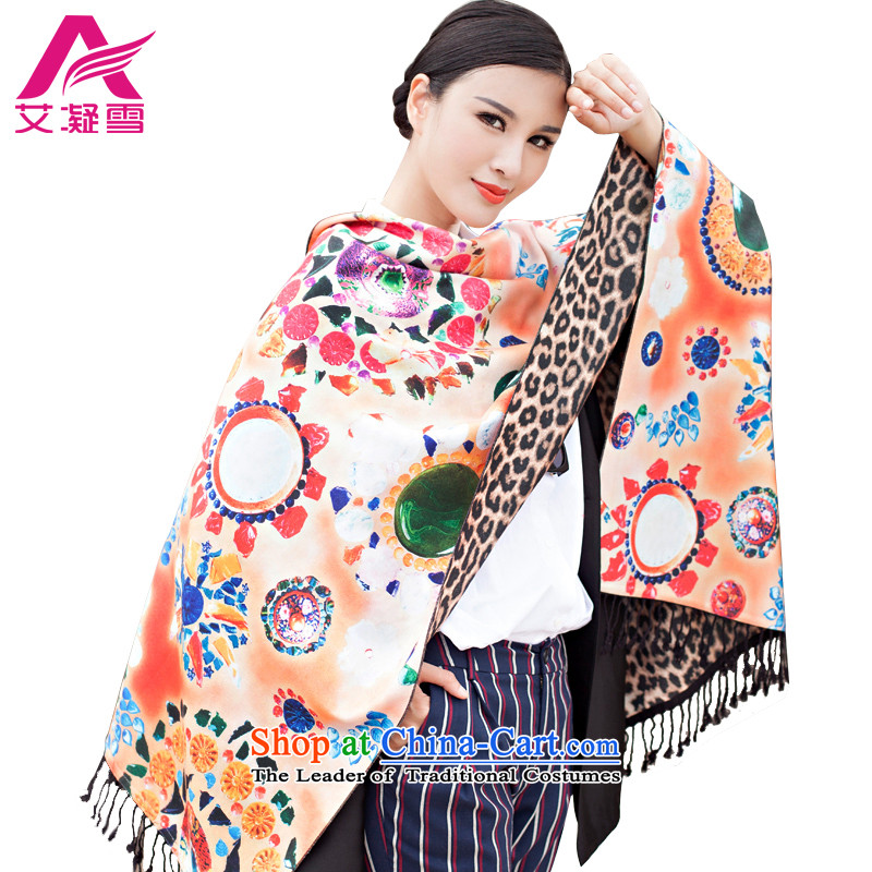 The Korean version of the new 2015 autumn and winter-couture warm longer scarves stamp large European and American national controversy shawl thick Bohemia Wai Shing聽WF21