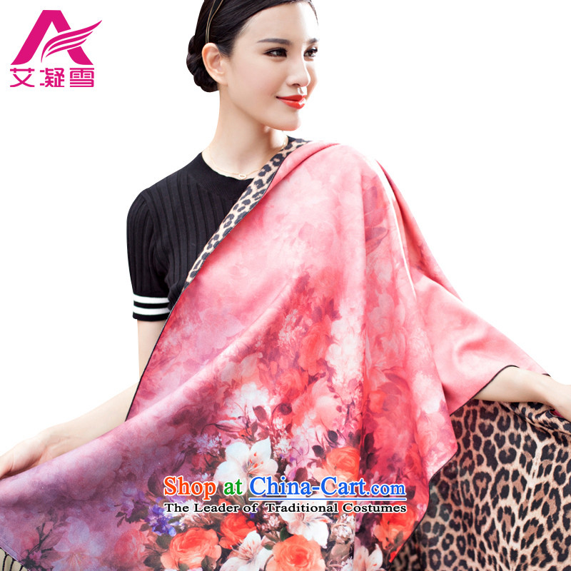 The Korean version of the new 2015 autumn and winter-couture warm longer scarves stamp large European and American national controversy shawl thick BohemiaWF29 a light pink