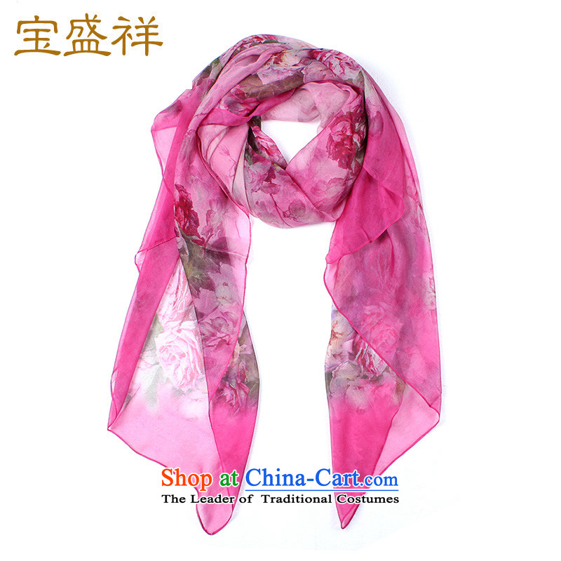 Ms. Cheung Blossom Spring and Autumn New Silk Scarf scarves spinning snow sauna silk scarf sunscreen air-conditioning s9109 shawl