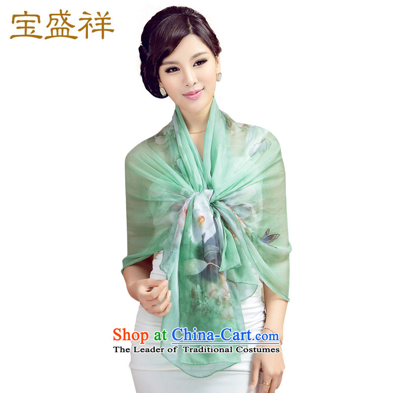 Eric blossom herbs extract long digital printing elegant wild silk scarves women chiffon Fancy Scarf Euroblech