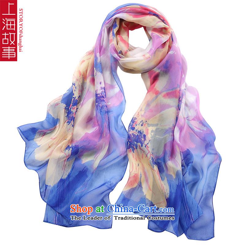 Shanghai Story silk scarves female sauna silk shawls scarvesQS13 female