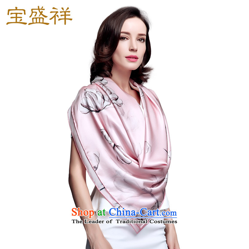 2015 Autumn Blossom Cheung new women's, silk and classy towel Ms. herbs extract the hijab shawl dancing autumn pink s9217