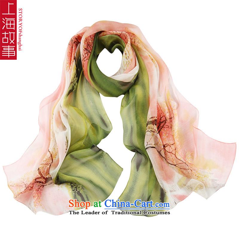Shanghai Story silk scarves female sauna silk scarf shawlFZ15