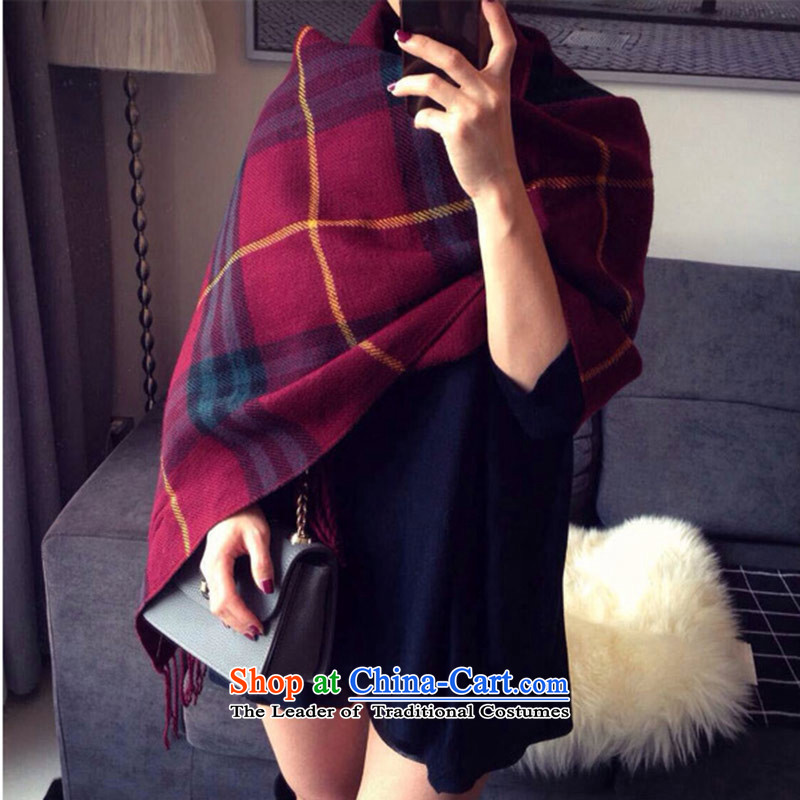 The autumn and winter female Korean shawl stylish scarf and women to releasea shawl