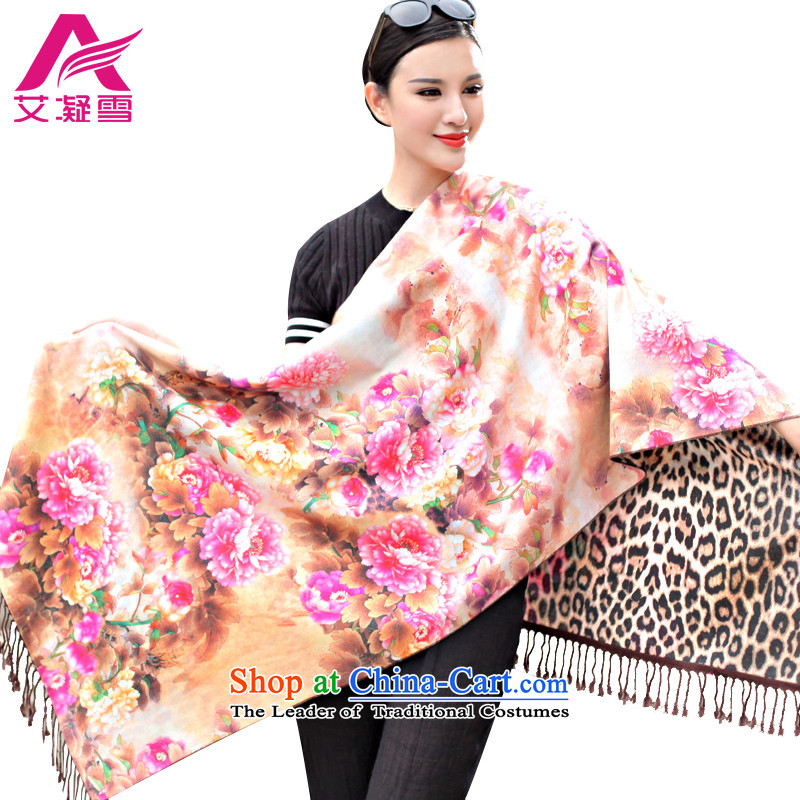 The Korean version of the new 2015 autumn and winter-couture warm longer scarves stamp large European and American national controversy shawl thick Bohemia Wai Shing聽WF34