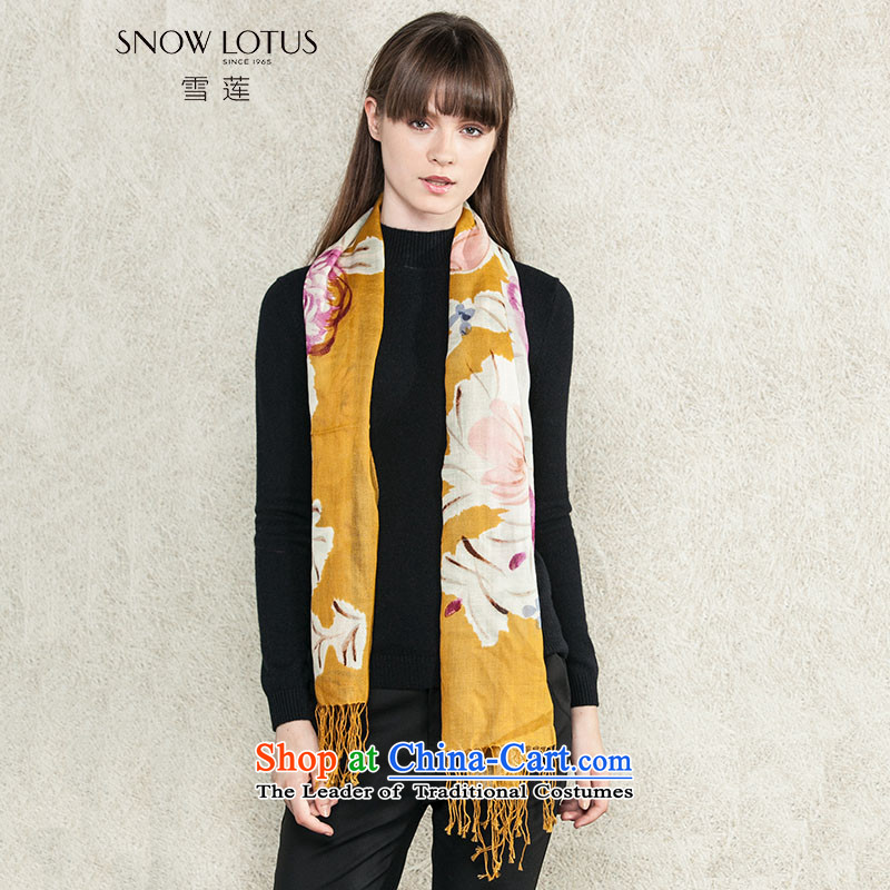 Shirley 2015 autumn and winter new products to suit the wool scarf orange are code