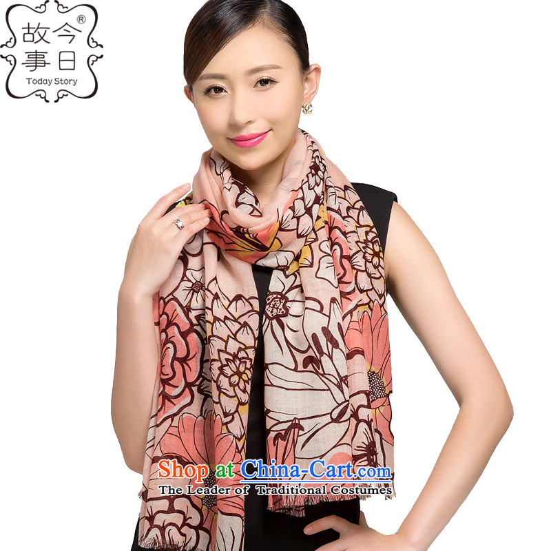 Today, new story 2015 autumn and winter flower fairies dancing wool stamp to a high standard and style of the scarf warm shawl178018Pink