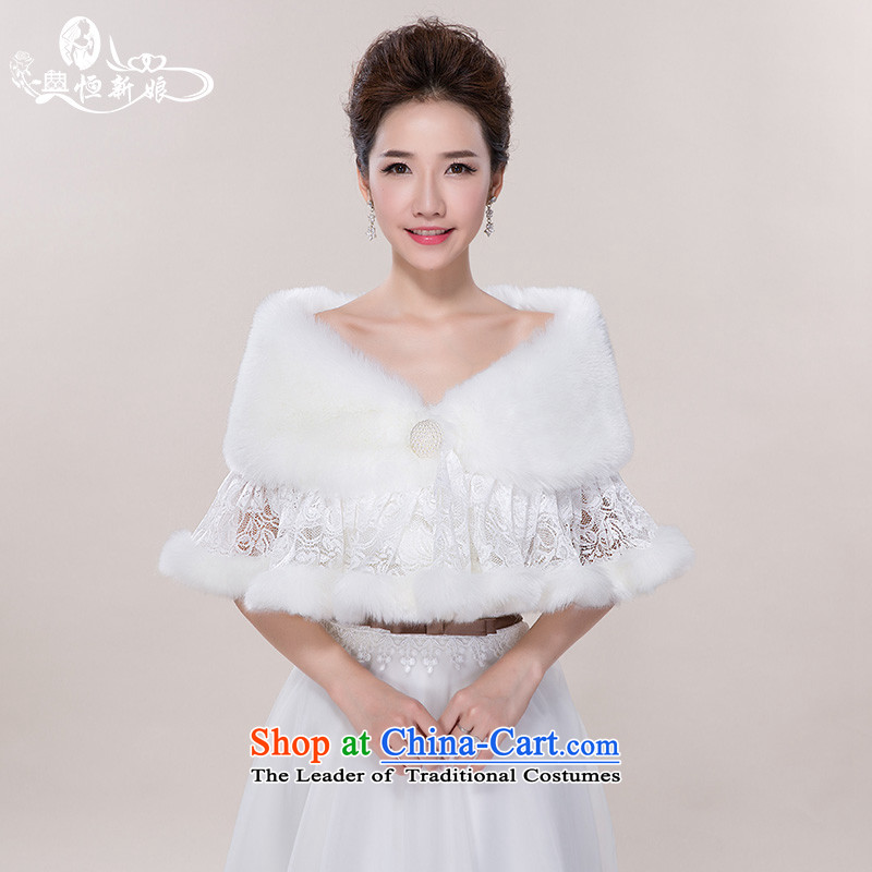 Noritsune bride wedding accessories gross shawl2015 new gross shawl marriage dedicated accessories, white hair white cape