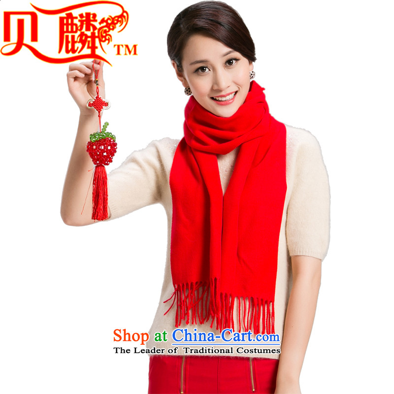 Addis Ababa Chuautumn and winter 2015 new pashmina men and women a taxi universal winter wool large red Gift Box Style 1 code.