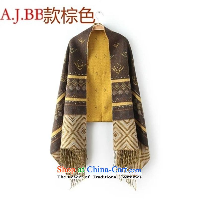 Orange Tysan _M0913S14 Korean autumn new sheikhs wind jacquard pashmina shawl 5425 Army Green