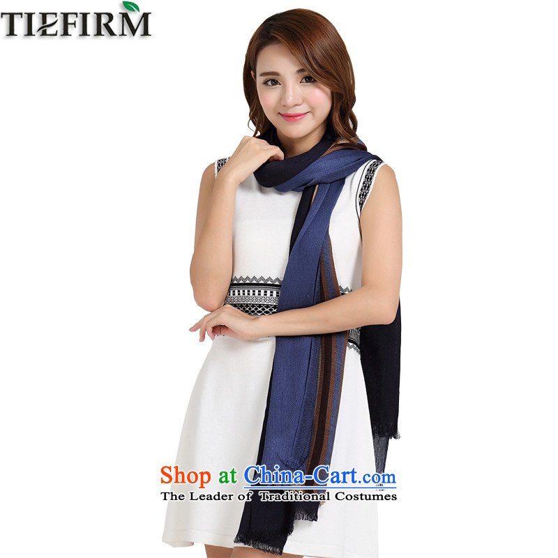 Tiefirm2015 autumn and winter new western color dark street concept net wild large shawl long simple and stylish scarf Gray
