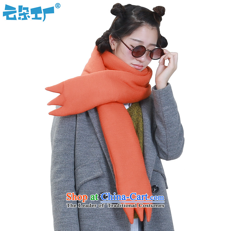 Clouds Factory Original red long warm scarves, a female couple thick outdoor scarf