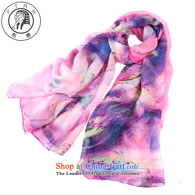 In the autumn and winter silk scarf silk scarf sauna workshops, Hangzhou shawl long spring and autumn summer sunscreen better red