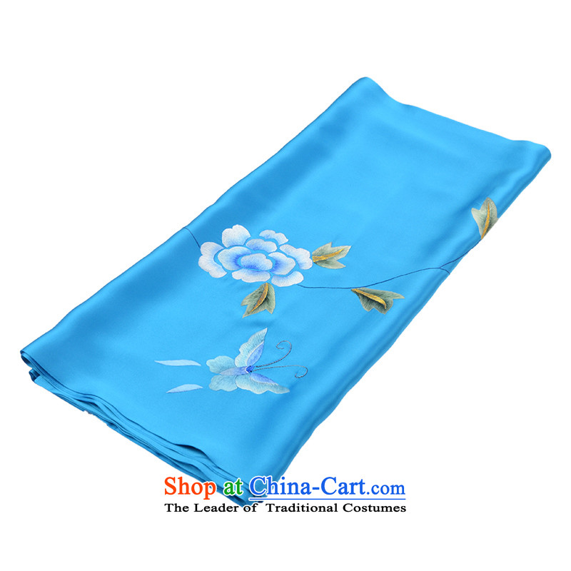 Name the tapestry arts plain manual suzhou embroidery double silk shawls Ms. handicraft embroidery China wind, the name of the blue tapestry arts , , , shopping on the Internet