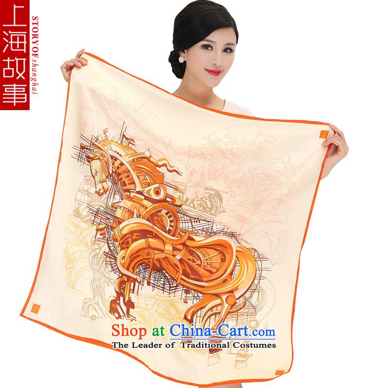 Shanghai Story silk scarf silk scarf and classy female sauna Jamsil silk scarf shawl聽3_