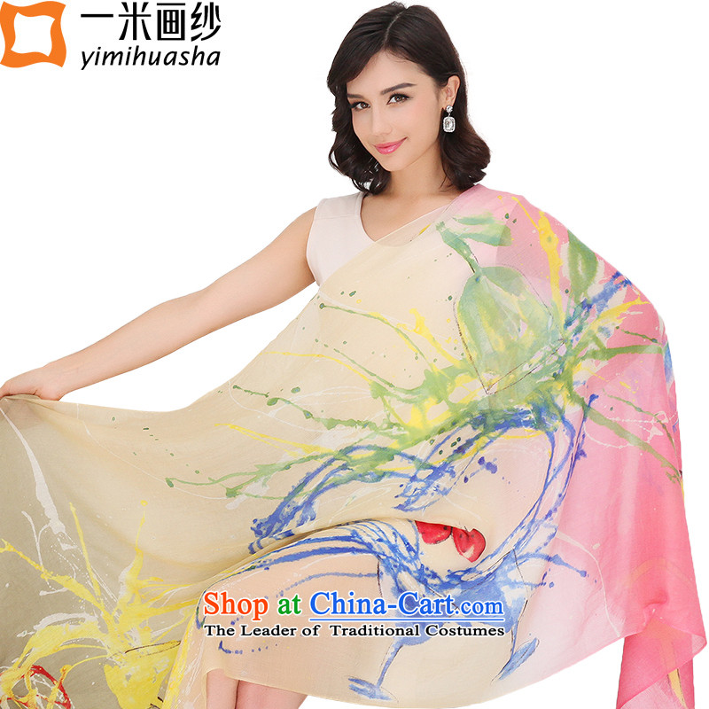 One meter animation yarn 2015 winter new 300 hand-painted pashmina shawl Ms. Love