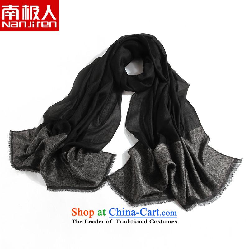 The Antarctic _nanjiren_ autumn and winter, Ms. Angola pashmina shawl long thick a black