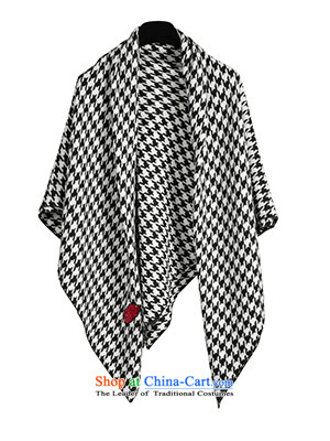 Black and White chidori she's plaid long scarves knitted warm thick shawl two A0 images with women SSP9511277, prices, brand platters! The elections are supplied in the national character of distribution, so action, buy now enjoy more preferential! As soon as possible.