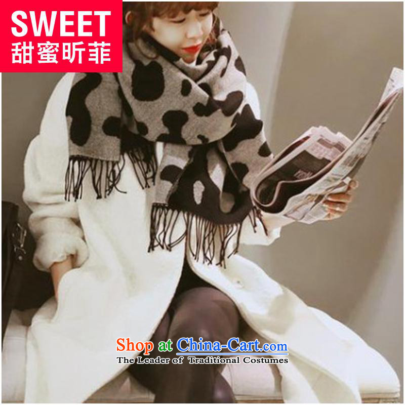 Xin Fei autumn and winter sweet new Korean fashion leopard wild fancy scarf picture color code