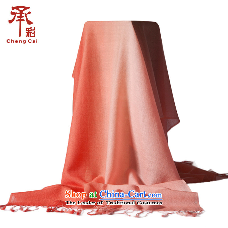 The color of the scarf stylish gradient sizes Ms. specifications on the other side of the fancy scarf light orange songs - Toner Gradient