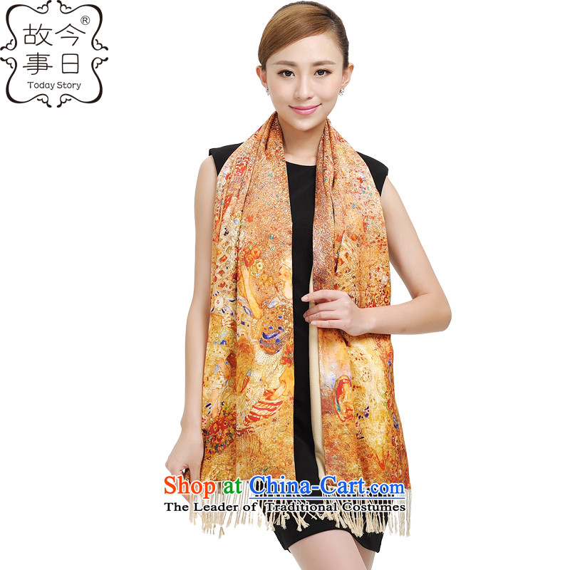 Today the new 2015 story of autumn and winter, sheikhs Korean China wind digital print two-sided shawl wild scarf 177024 shined brilliantly