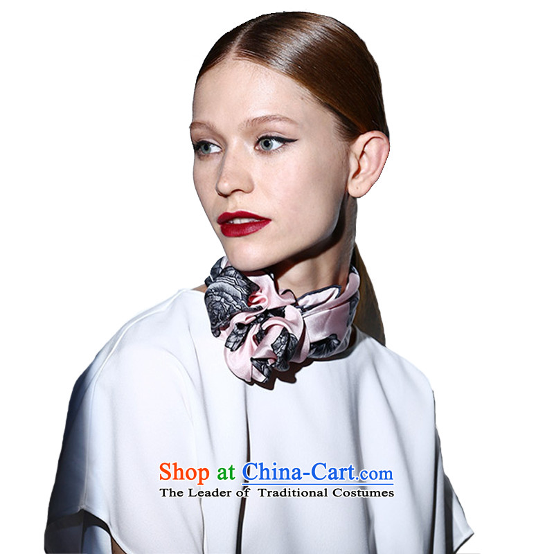Shooshan better as Ms. upscale herbs extract spring and autumn silk scarf stylish stamp small towel silk scarfs gift birds series fruit platter