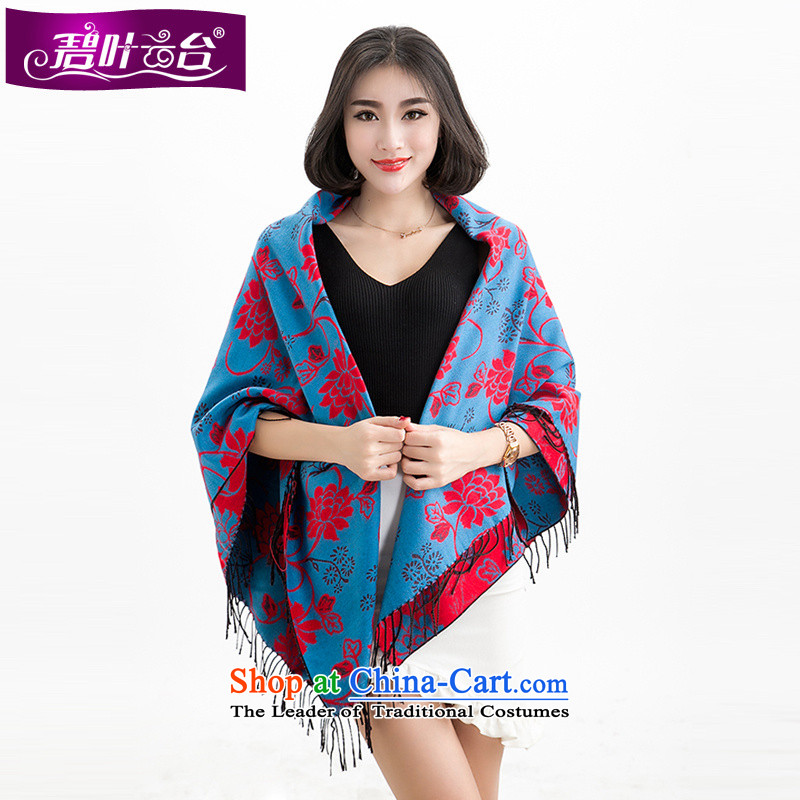 Mr Pik PTZ 2015 autumn and winter new women's square flower shawl floweret scarves patterns of ethnic and classy towel001