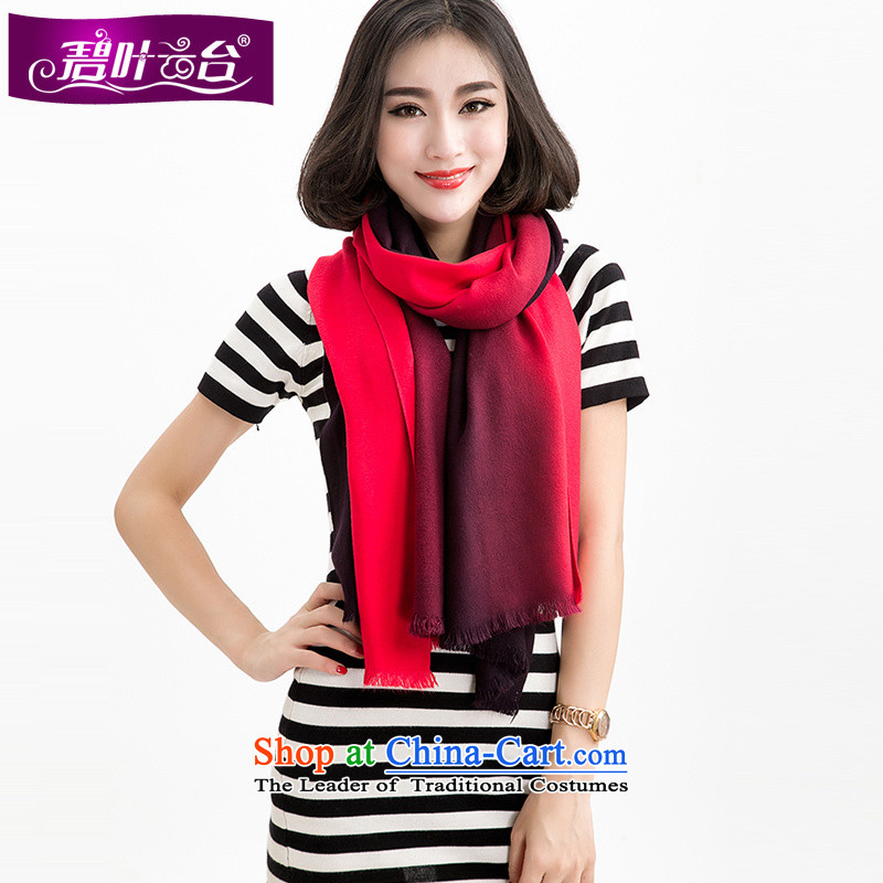 Mr Pik PTZ 2015 Ms. new scarf winter shawl two Korean version of the gradient warm cashmere thick Wai Shing聽006