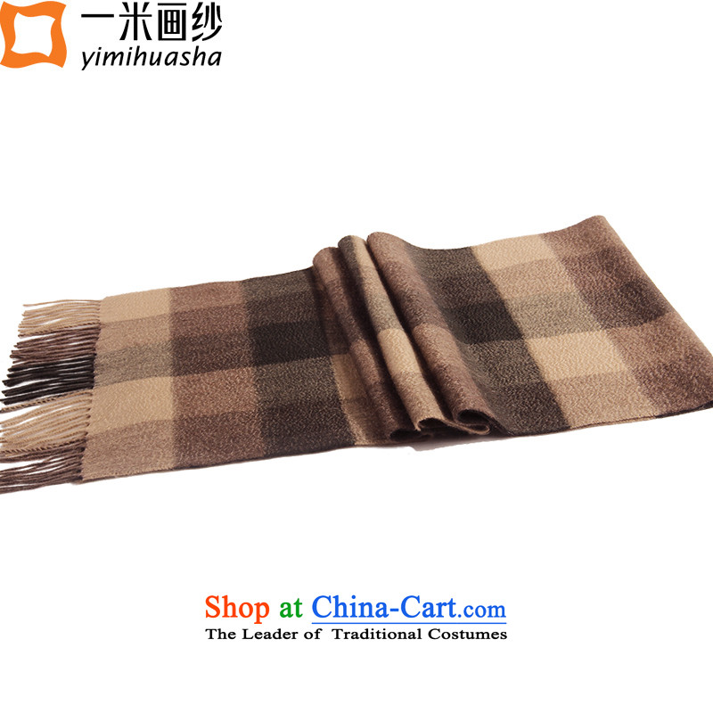 One meter picture of autumn and winter new men's woven fabric, Cashmere scarf #11