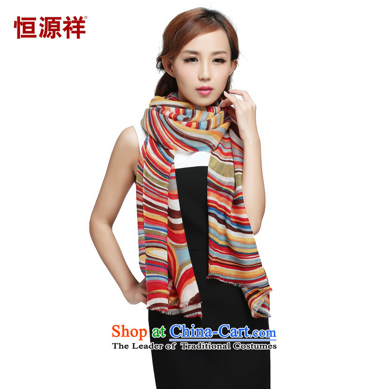 Hengyuan Cheung thin wooler scarf of 100_ Ms. geometry scarf autumn and winter聽6709 scarves 65_180 New Products