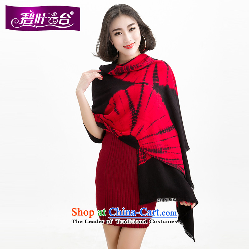 Mr Pik PTZ 2015 new woolen scarves shawl two with women winter new half a Sun flower patterns of a large shawl Mother001