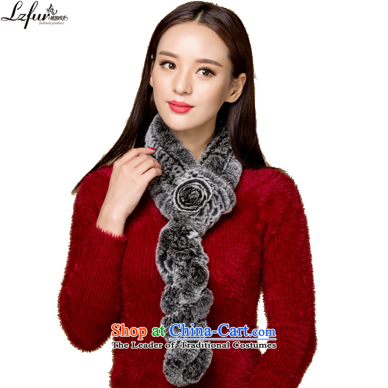 I know the new 2015 Ms. fur winter fur muffler twist a warm 3153 Black Bottom Ash Tsim