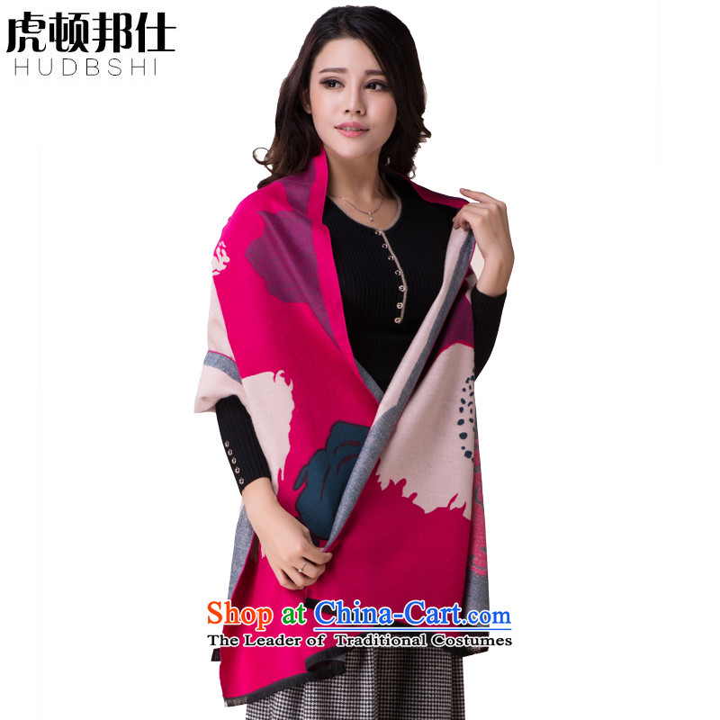 The state of the Dayton International Wool tiger scarf long Korean autumn and winter Ms. new pashmina shawl wool oversized a warm air-conditioning with two of the Red Shawl