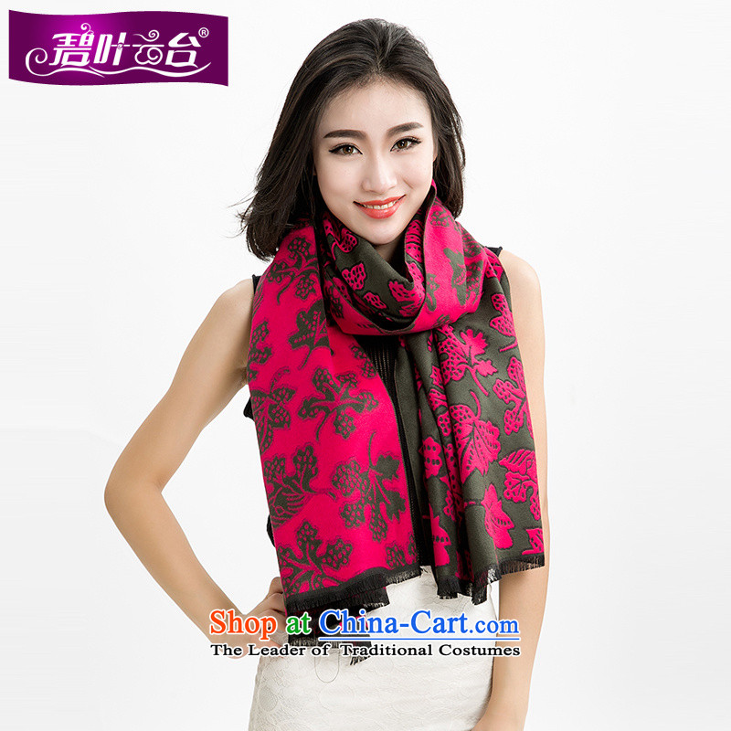 Mr Pik PTZ 2015 autumn and winter Cashmere wool scarves new products, both _pashmina shawl Maple Leaf stamp rectangular handkerchief extra-long history001
