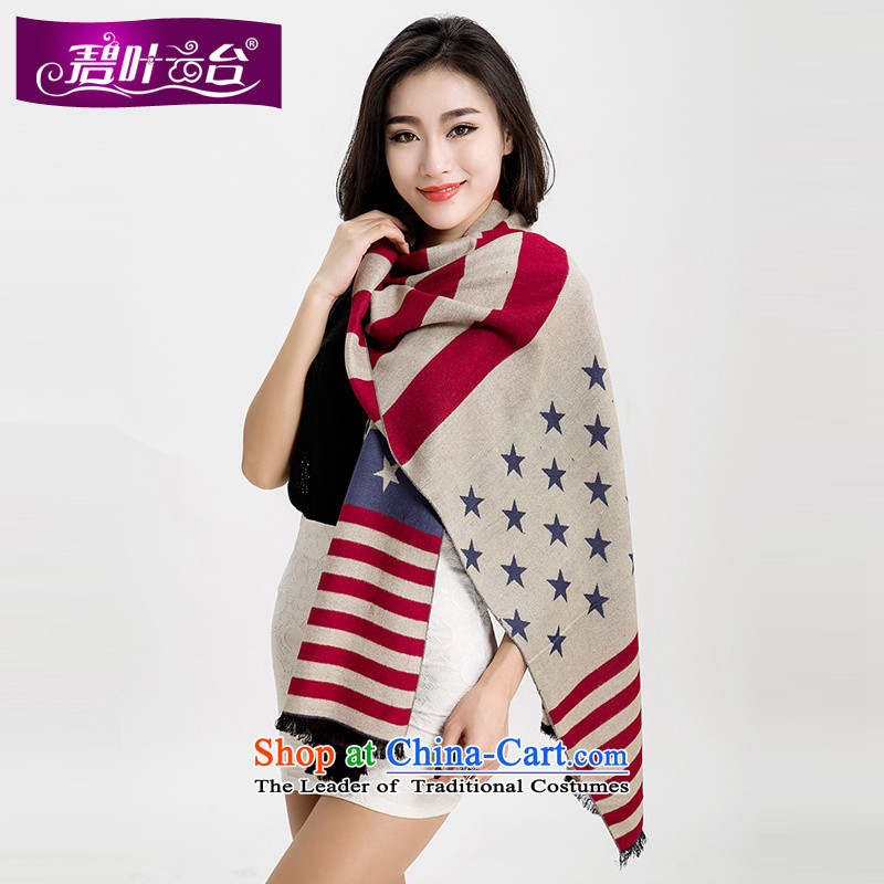 Mr Pik PTZ 2015 new Korean president scarf Cashmere wool scarf shawl ultra long winter female thick with two stars suit002