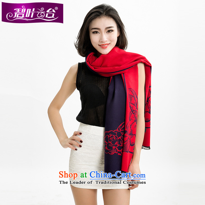 Mr Pik PTZ 2015 autumn and winter the bottom edge of the new president spend Cashmere wool Fancy Scarf dual-use a wider shawl thick shawl dual-use 001