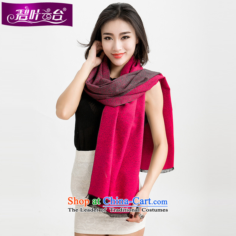 Mr Pik PTZ 2015 autumn and winter won increase thick wool scarves version cashmere shawls two warm-spots with solid color A003