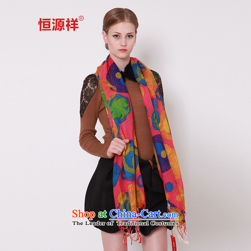 Ms. Cheung Hengyuan wooler scarf 2015 autumn and winter new warm and stylishJ2450-3