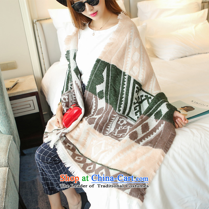 Mrs Carrie Yau, Ms. Mimi scarves knitted woolen scarves winter twist knitting shawl ethnic nude