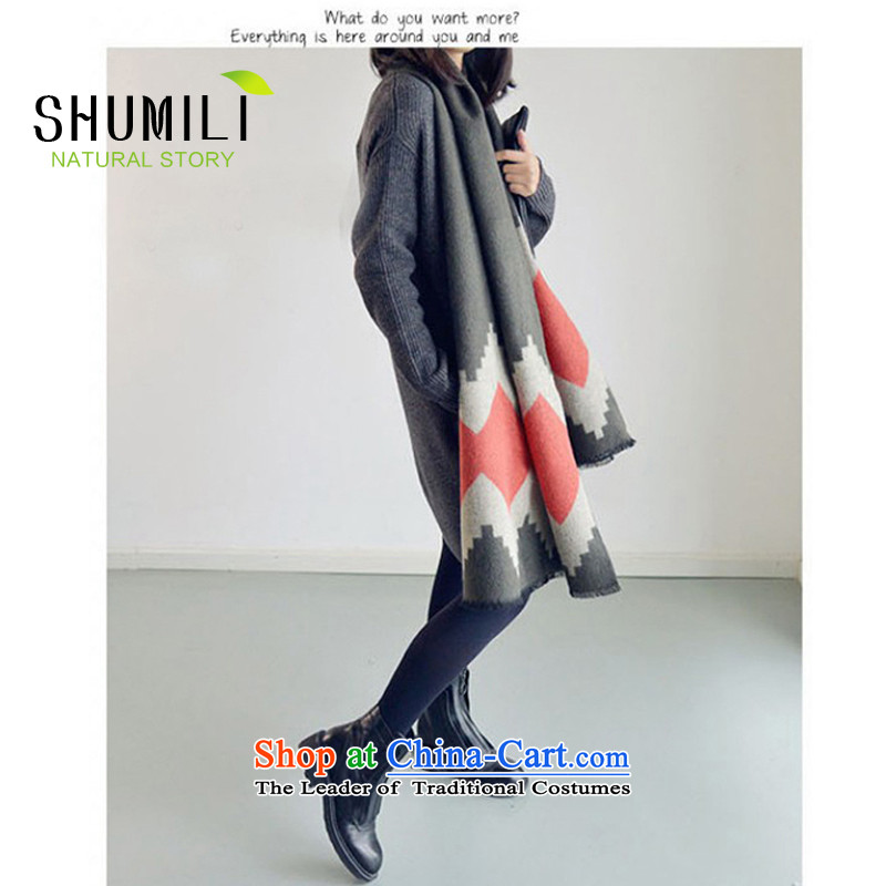 Mrs Carrie Yau, Ms. Mimi scarves knitted woolen scarves winter knitted cardigans twist Western Wind Carbon