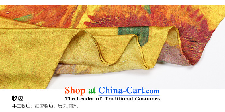 Eric blossom 2015 Ms. New Silk shawl sauna silk satin turban shawl scarf sunflowers9306 picture, prices, brand platters! The elections are supplied in the national character of distribution, so action, buy now enjoy more preferential! As soon as possible.