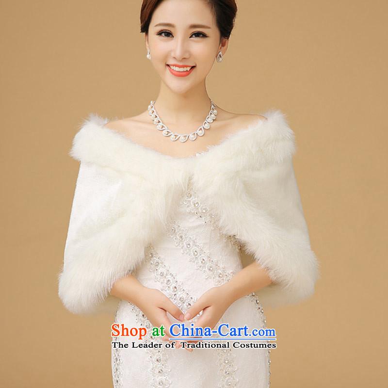 Wedding dress shawl qipao marriage small winter coats bridesmaid shawlB_ gross
