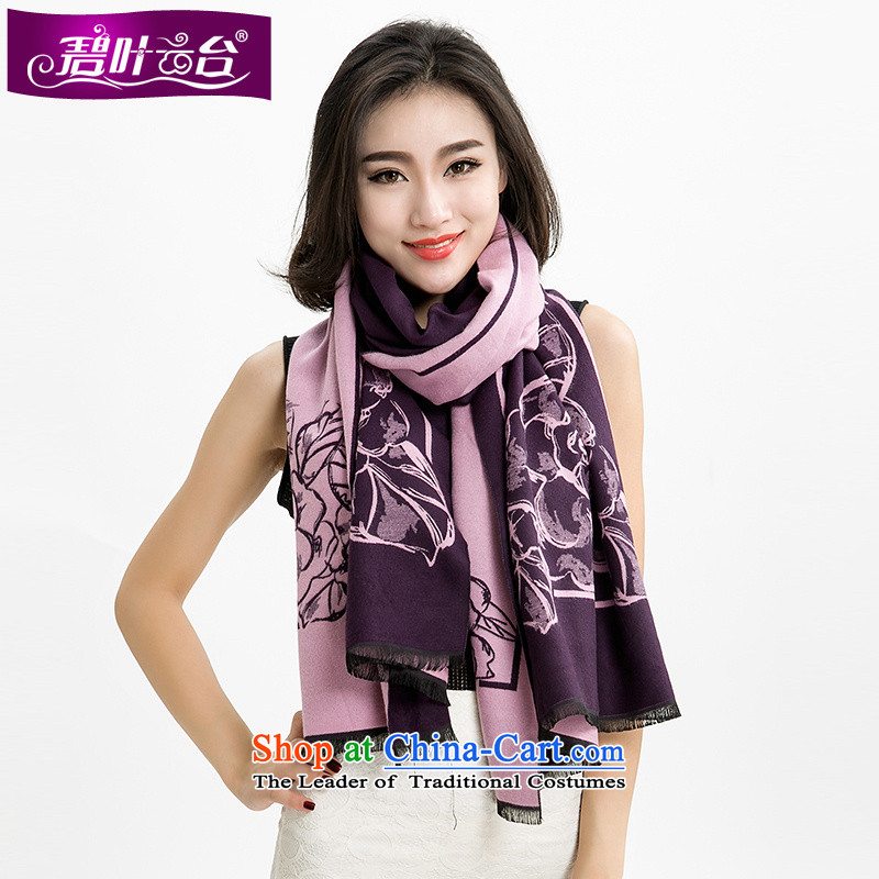 Mr Pik PTZ 2015 autumn and winter the bottom edge of the new president spend Cashmere wool Fancy Scarf dual-use a wider shawl thick shawl dual-use 002