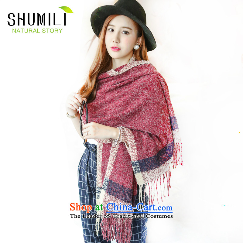 Mrs Carrie Yau, Ms. Mimi scarves knitted woolen scarves winter twist knitted cardigans bourdeaux