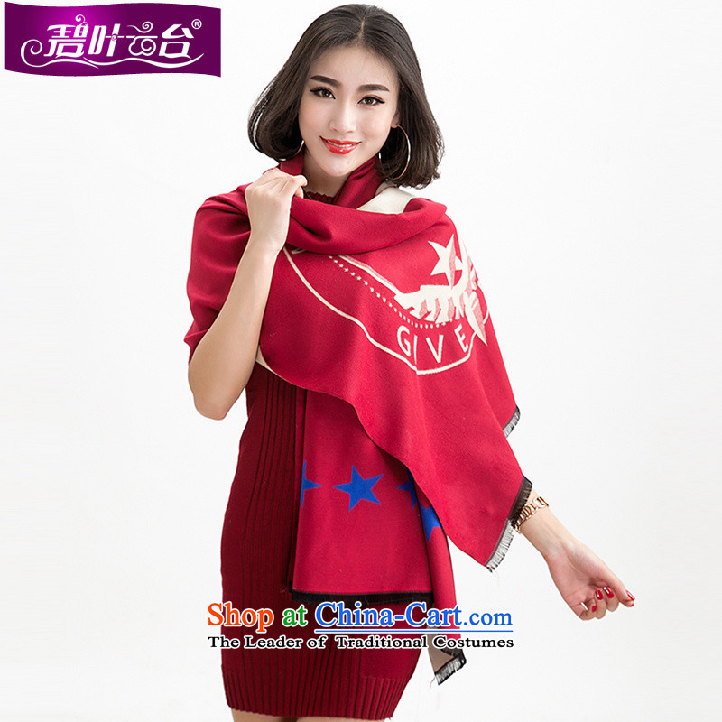 Mr Pik PTZ 2015 Autumn and Winter Female monsters pashmina shawl winterizing-498Warm couples a double-sided thick spring and autumn001