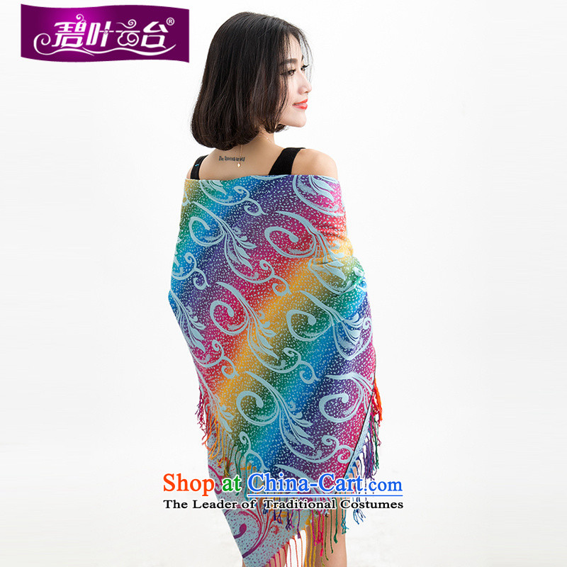 Mr Pik PTZ 2015 new ethnic shawl pashmina shawl seven colored with winterizing Ms. warm party scarf 005